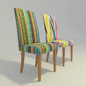3d model kare chair
