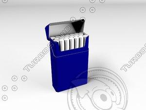 3d blank pack model