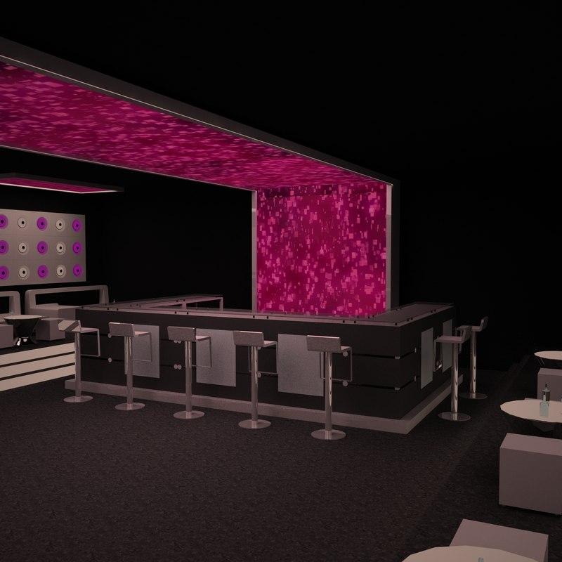 Virtual Home Design Studio: Stonette 7 Nightclub 3d 3ds