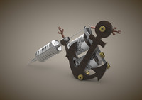 3d tattoo machine