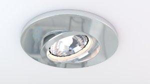 halogen lamp 3d 3ds