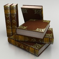 3ds max elegant old book