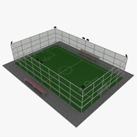 3d model football