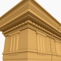 interior cornice molding dxf