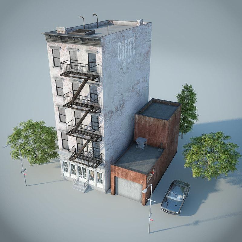 3d model new york manhattan style