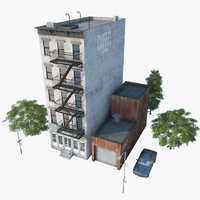 3d model new york manhattan style