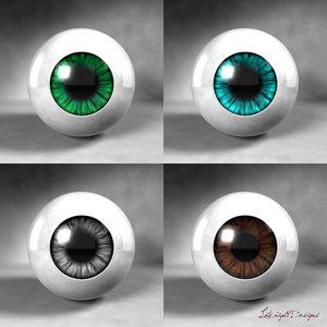 dxf lookalike eyes lighting scene