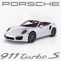 3d porsche 911 turbo s