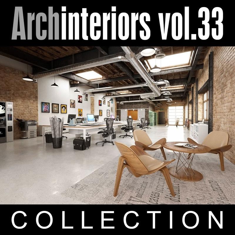 archinteriors vol 33 interior scenes 3d model