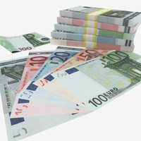 Euro Banknotes Collection 5€ - 10€ - 20€ - 50€ - 100€