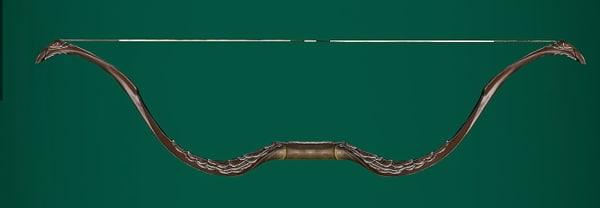 tauriel bow 3d model
