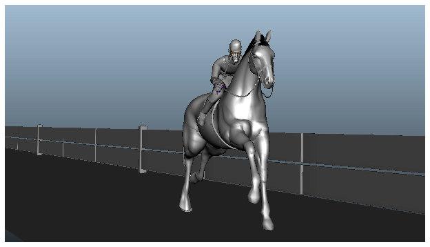 jockey riding horse ma
