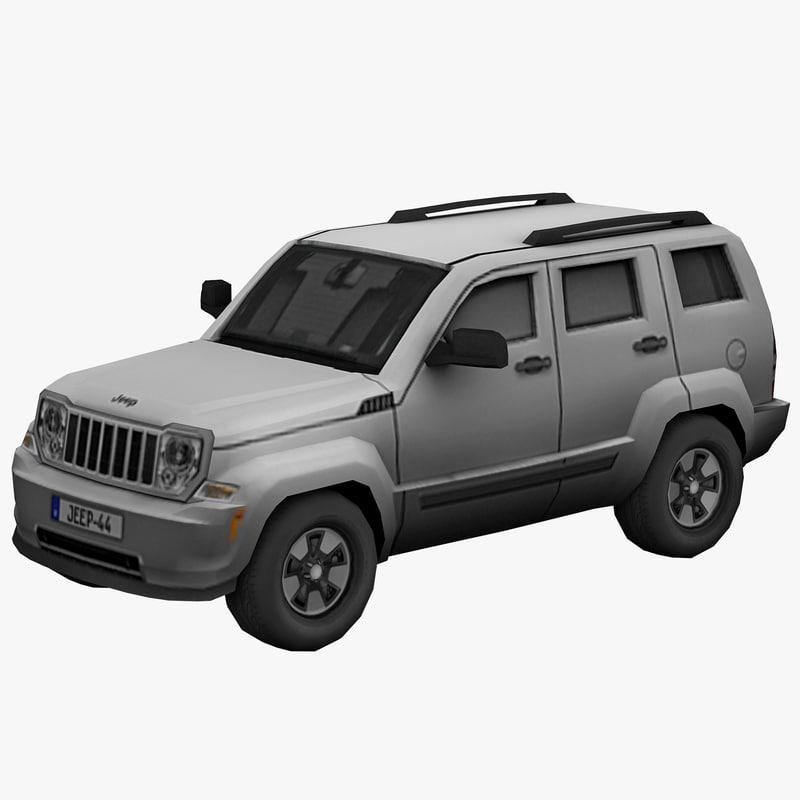 jeep liberty obj