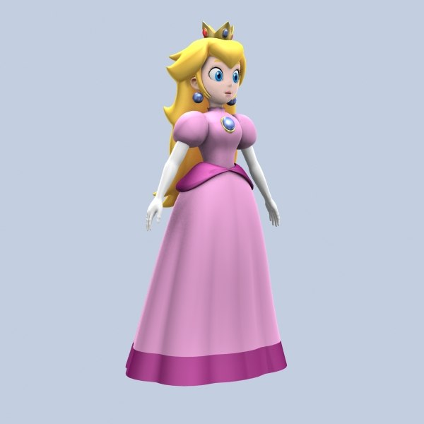 princess peach 3ds