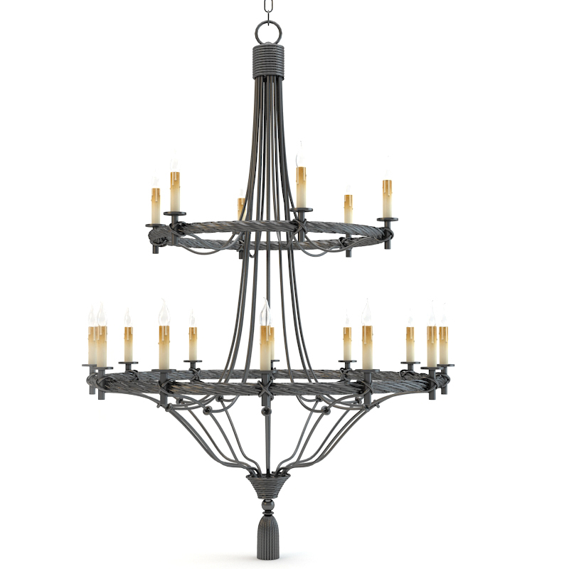 Currey And Company Priorwood Chandelier Lighting