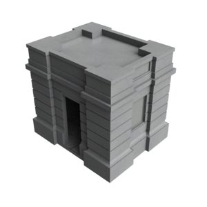 small building 3ds