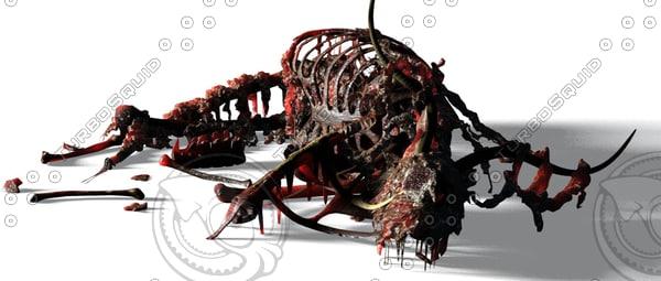 3d animal gunu carrion