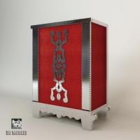 3d model arte veneziana mobile