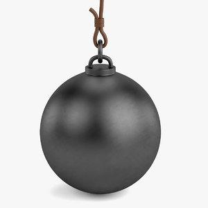 3d destruction ball model