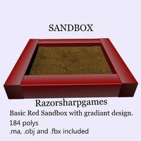 3ds max sandbox sand