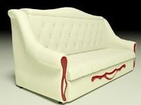 sofa Pinskdrev 3Ds Max 2014