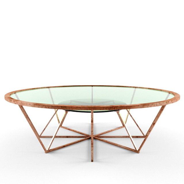 coffe table 3d model