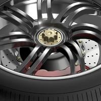 pagani huayra wheel 3d max