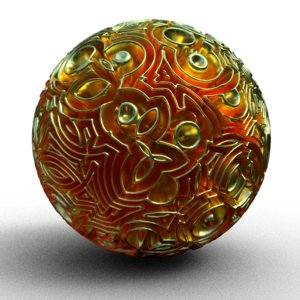 mad ball 3d obj