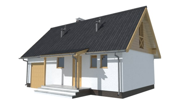 3d danusia house model
