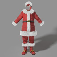 max realistic santa claus outfit
