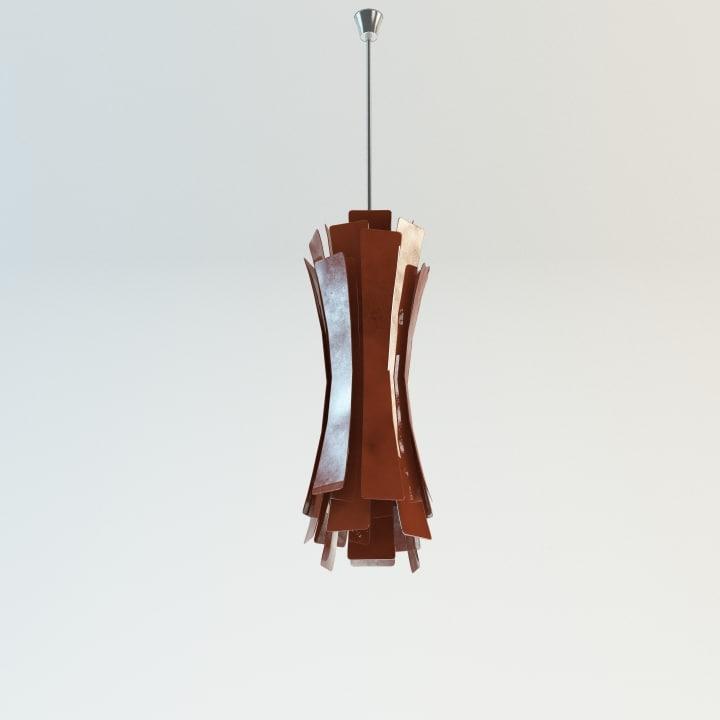 3d model etta suspension lamp