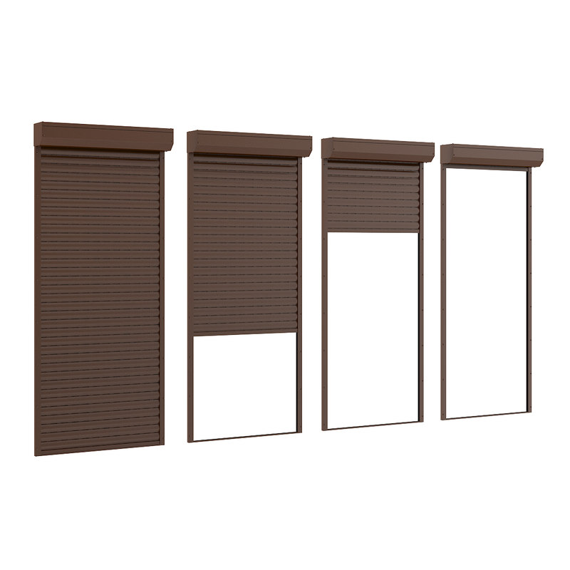 3d model exterior roller shutters