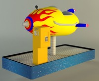 Childrens Space Ship Ride