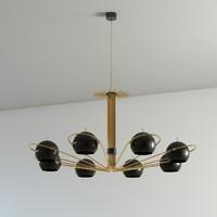 3d neil suspension lamp
