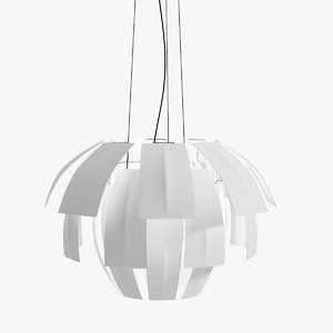 3d model plumage axo light