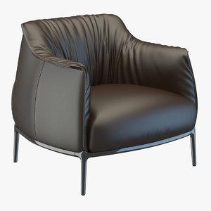 free max model archibald armchair poltrona frau