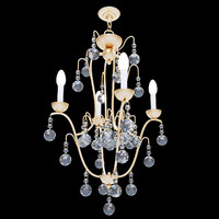 3ds max currey allusion chandelier