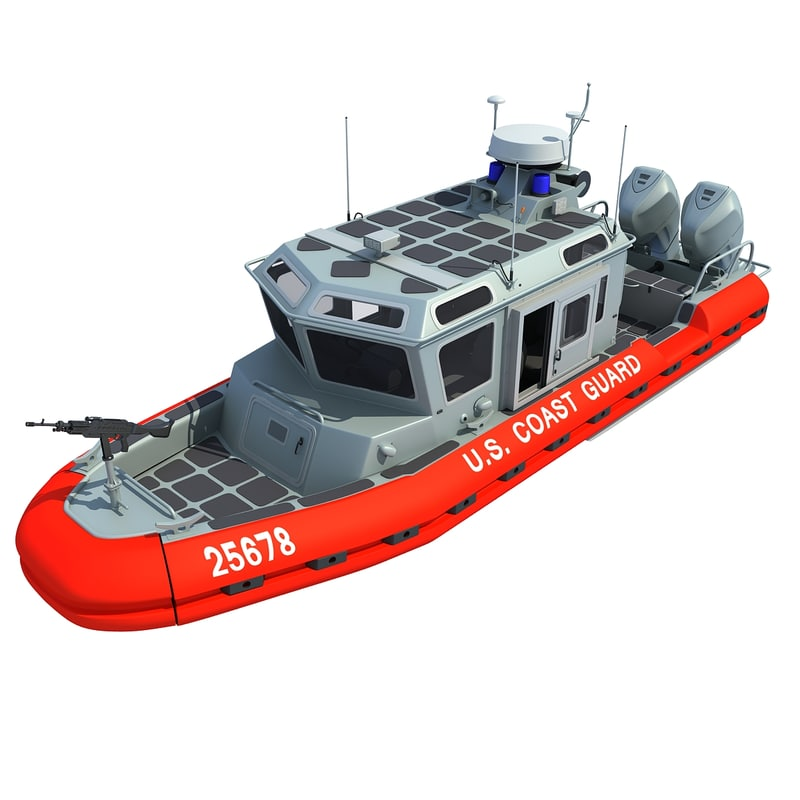 coast guard defender class obj