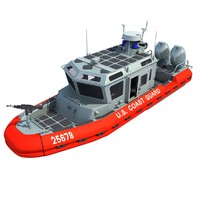 Coast Guard Defender Class Boat