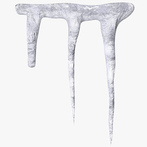 icicle 2 3d model