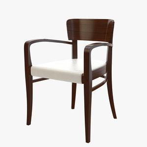montbel chair armchair 3d max