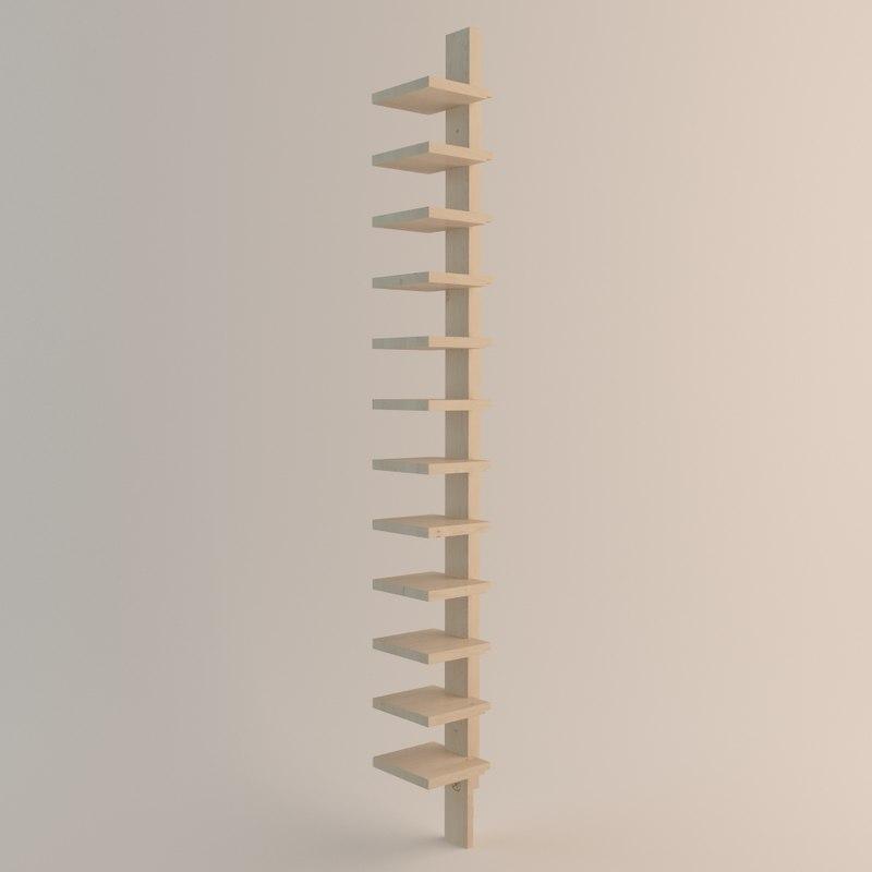 john kandells pilaster kallemo 3d model