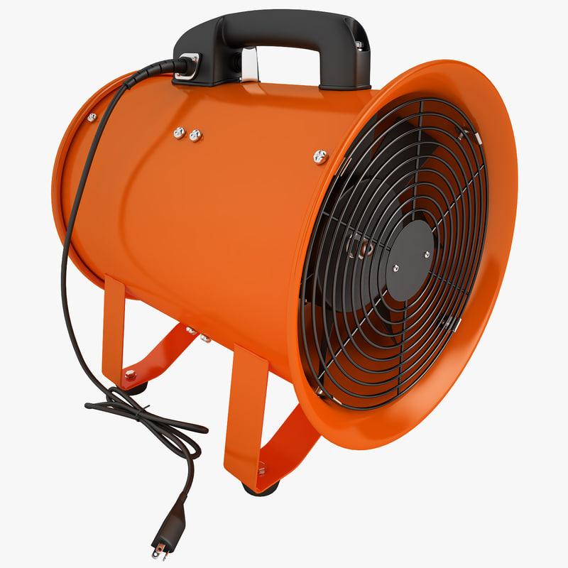 max portable ventilator vent