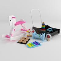 3d toys hit model