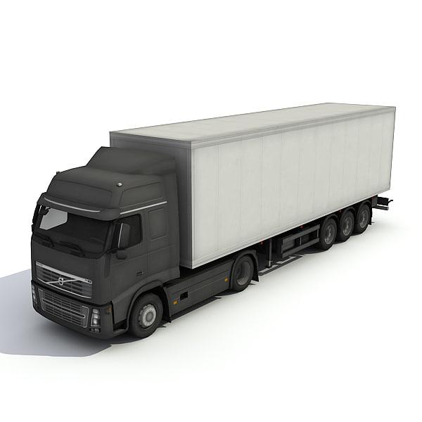 big trailer 3d max