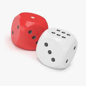 3d die dice