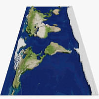 Flat Globe MTH-01