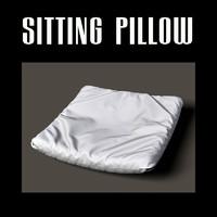 sitting pillow 3d obj