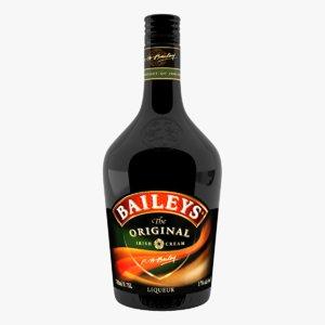 3d baileys original liquer model