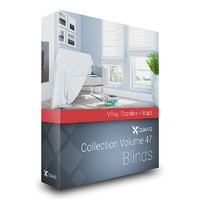 3d model volume 47 windows blinds